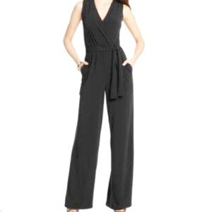 NY Collection Black Jumpsuit
